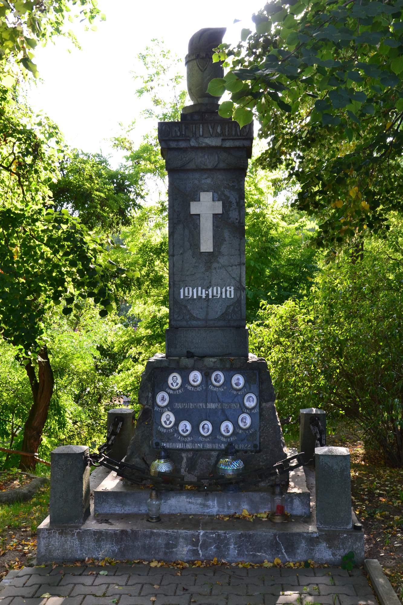 památník padlých